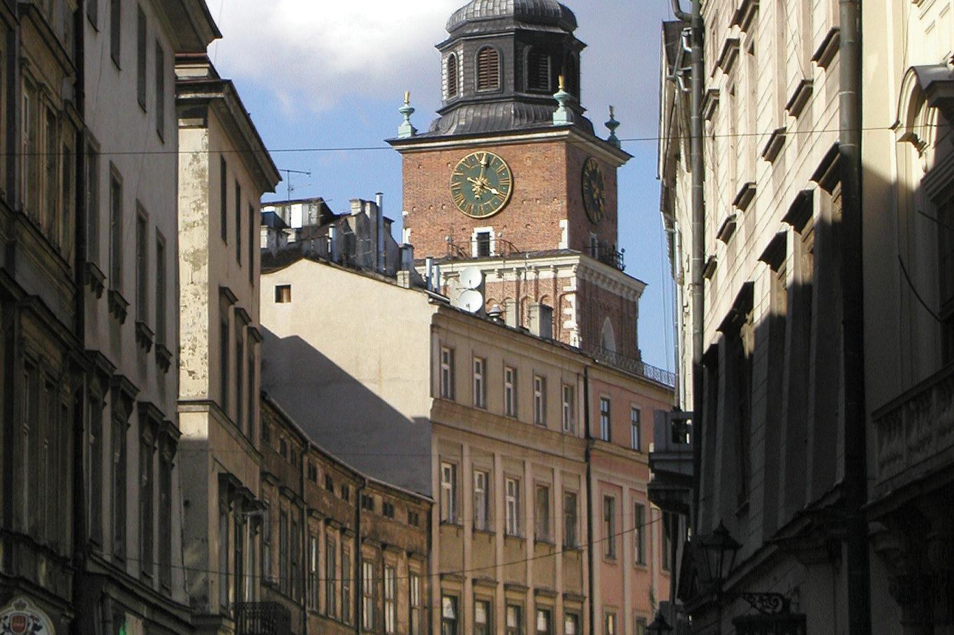 WIEŻA RATUSZOWA W KRAKOWIE, fot. M. Klag (MIK, 2005) CC BY SA 3.0