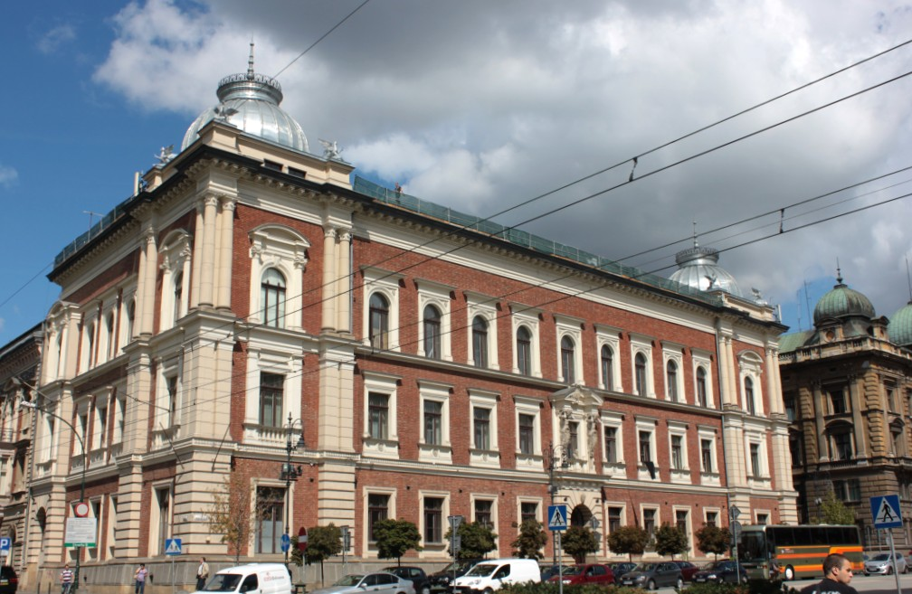 AKADEMIA SZTUK PIĘKNYCH W KRAKOWIE: GMACH GŁÓWNY, fot. J. Nowostawska-Gyalókay (MIK, 2012) CC BY SA 3.0